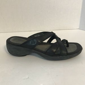 Women's Merrell Wedge Sandals size 7 Black/Gray